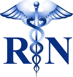 Nursing logo graphic.