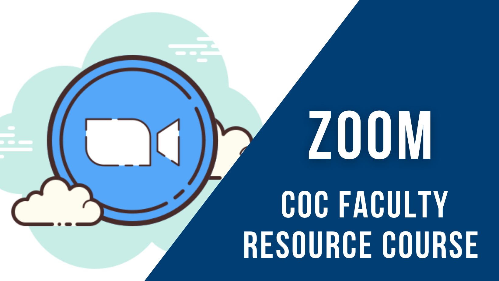 Faculty resource course - Zoom