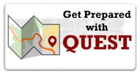 Get prepared with Quest button