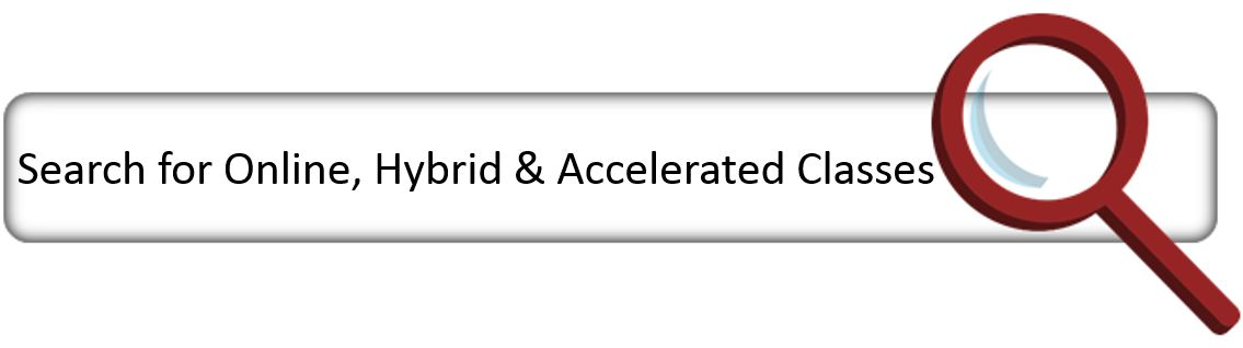Search for Online hybrid and accelerated Classes