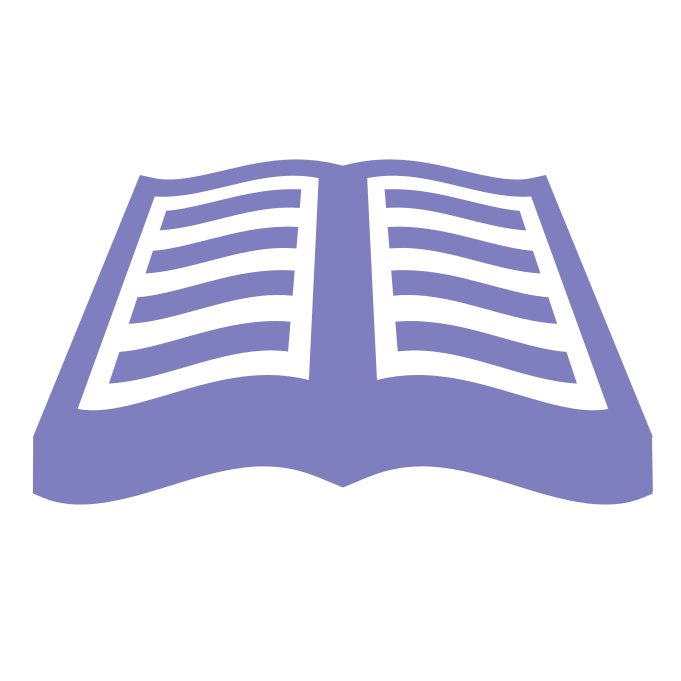 textbook cover icon