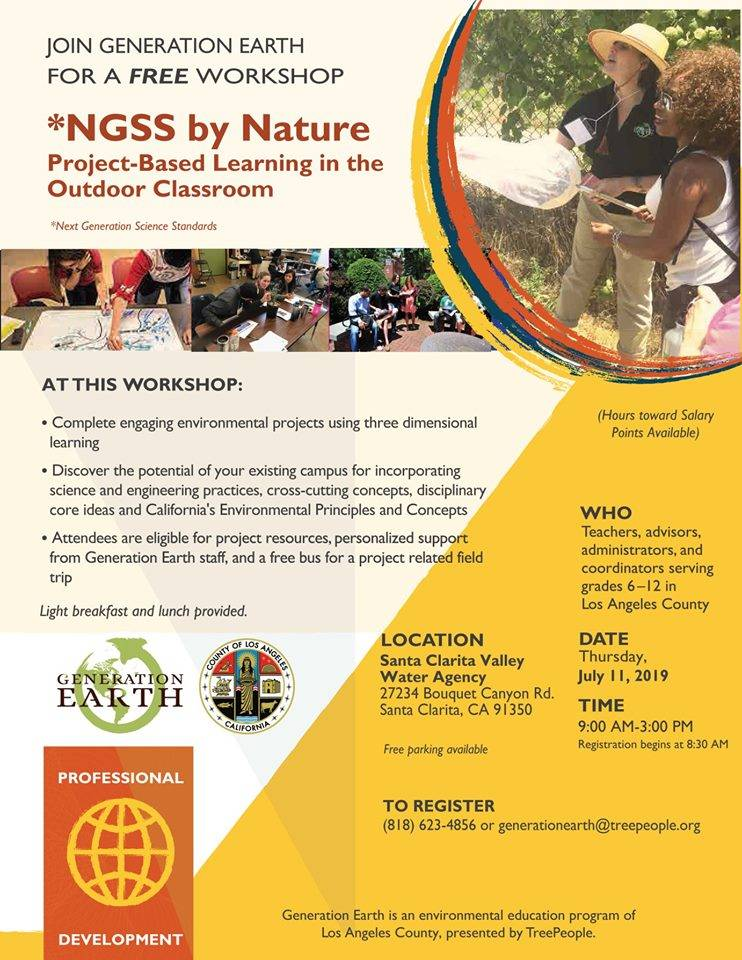 NGSS by Nature 2019 TreePeople