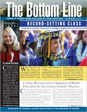 Cover of Bottom Line, Summer 2019