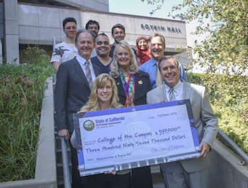 Thanks to the efforts of Senator Scott Wilk (R-Santa Clarita) and Assemblywoman Christy Smith (D-Santa Clarita), COC has received state funding to renovate Boykin Hall.