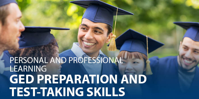 GED preparation and test-taking skills