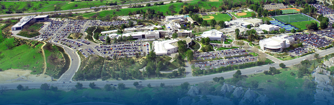 Aerial view of Valencia Campus