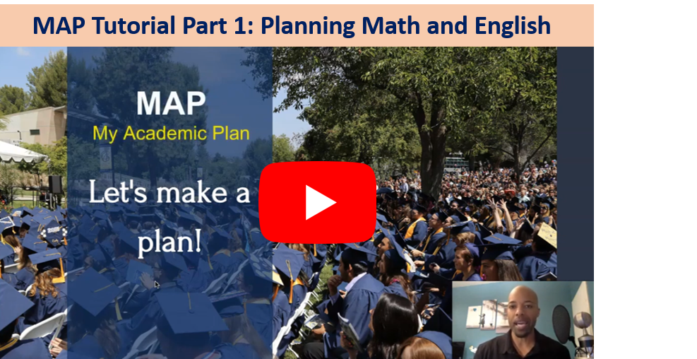 Map Tutorial Part 1: Planning Math and English Courses